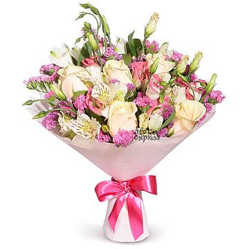Доставка цветов г алма-ата купить жене подарок на день рождения