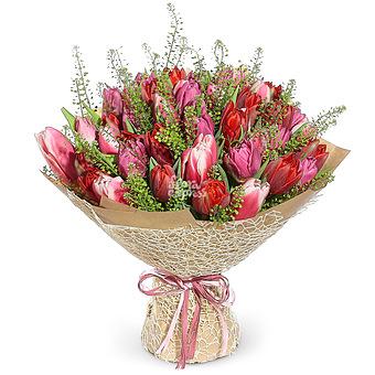 Букет Большой букет тюльпанов