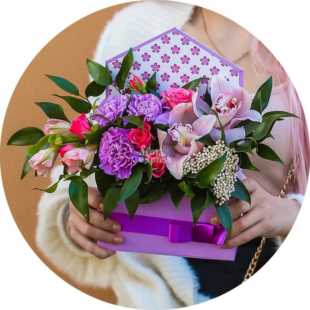 Букет «Flora Express», Ultra violet