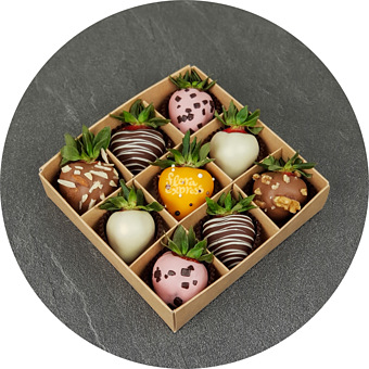 Букет Клубника в шоколаде 1