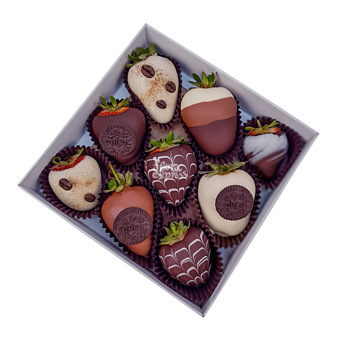 Букет Клубника в шоколаде 6