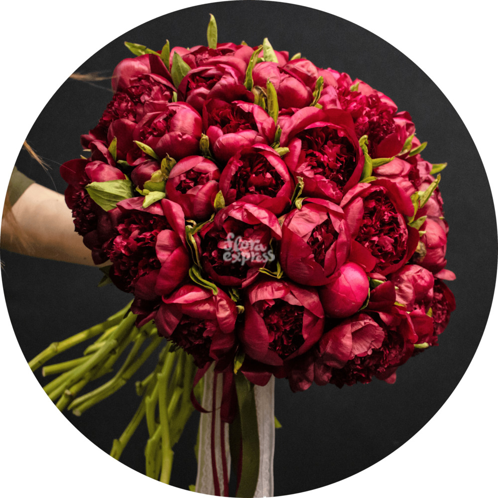 Букет «Flora Express» Гранатовая россыпь фото